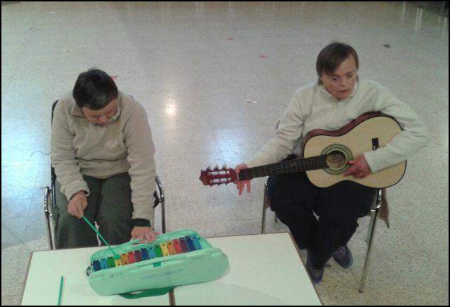 "Programa ""La Mirada"", IB3. Musicoterapia en Síndrome de Down"